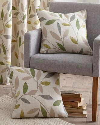 Trailing Leaf Cushion Cover Pair