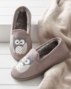 Women's Owl Slippers