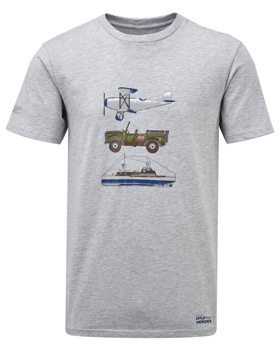 Help For Heroes Printed T-Shirt
