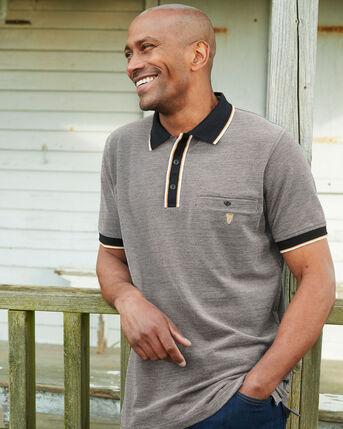 Guinness™ Short Sleeve Birdseye Pocket Polo Shirt