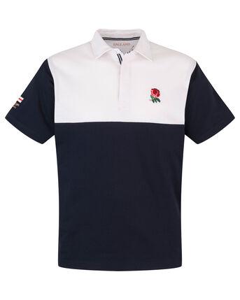 England Short Sleeve Cut & Sew Classic Rugby Shirt