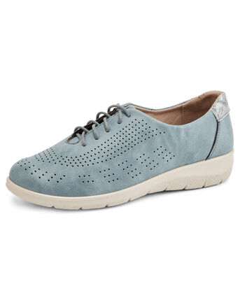 Cushioned Memory Foam Lace-up Trainers