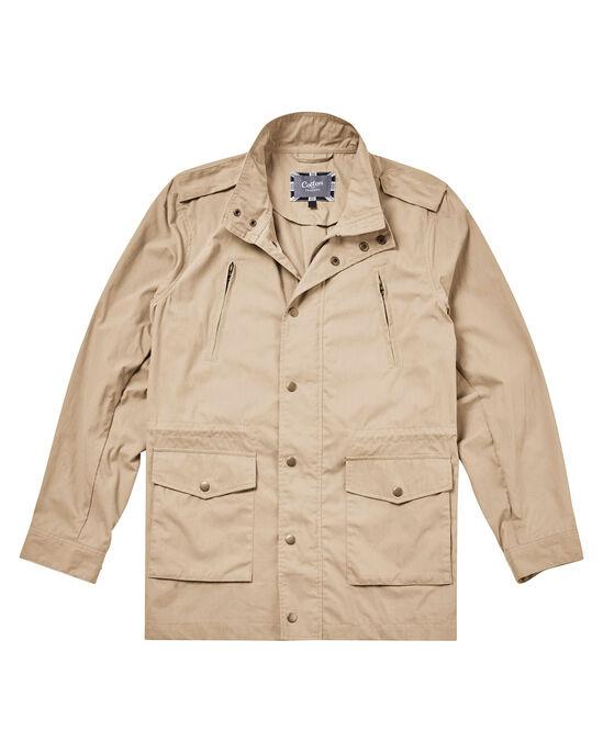 Lightweight Showerproof Cargo Jacket