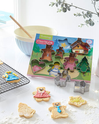 8 Piece Fairytale Cookie Cutter Set