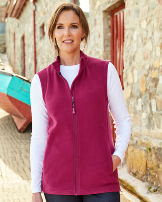 Recycled Microfleece Gilet