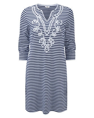 Jersey Stripe Dress
