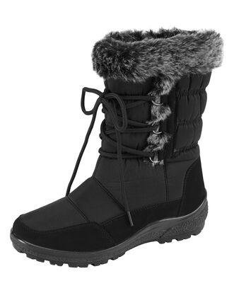 Cosy Comfort Fur Trim Boots