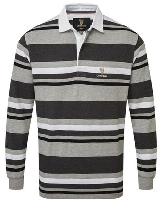 Guinness® Long Sleeve Stripe Rugby Shirt