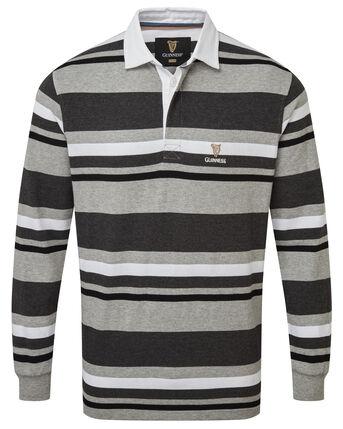 Guinness™ Long Sleeve Stripe Rugby Shirt