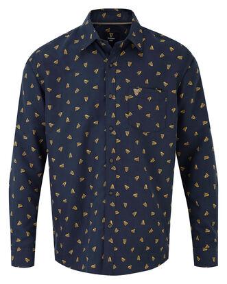 Guinness® Long Sleeve Soft Touch Harp Print Shirt