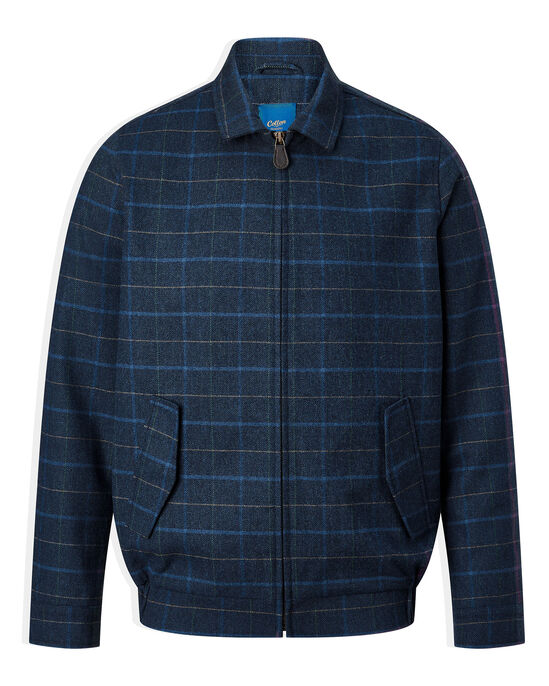 Wool Touch Check Jacket