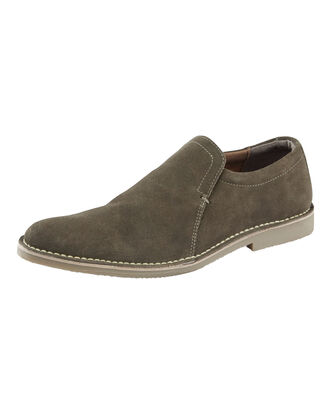 Suede Slip-on Desert Shoes
