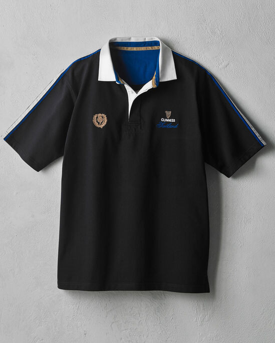 cbb7a9c515a Guinness® Short Sleeve Scotland Rugby Shirt at Cotton Traders