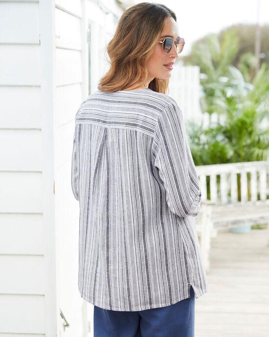 Linen-blend Overshirt