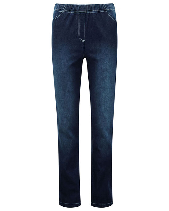Pull-on Stretch Bootcut Trousers