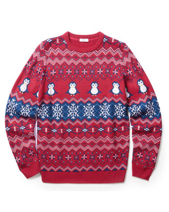 Multi Crew Neck Christmas Jumper