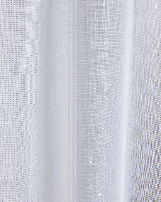 "Shimmer Eyelet Voile (Pair) 55X54"""