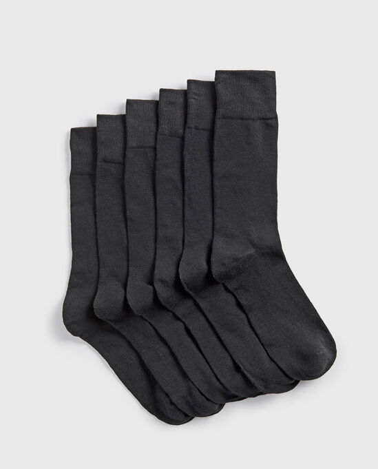 6pk Supersoft Socks