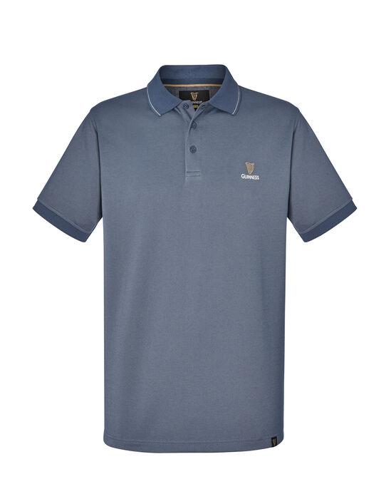 Guinness® Short Sleeve Fine Stripe Polo Shirt