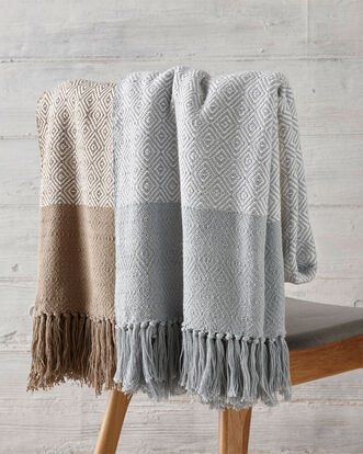 Highgrove Cotton Throw Large