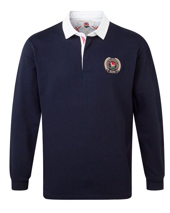 Long Sleeve England Rugby Shirt