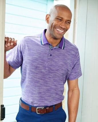 Textured Polo Shirt