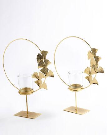 2 Pack Lotus Tealight Holders