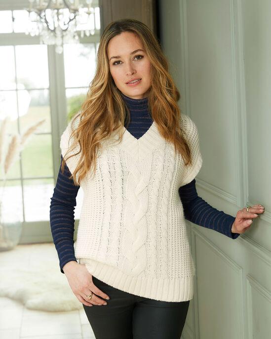 Retro Knitted V-Neck Sweater Vest