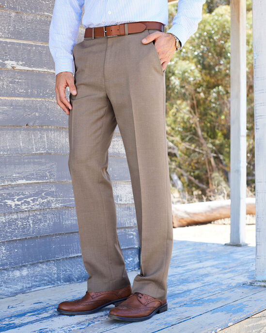 Ultimate Flat Front Trousers