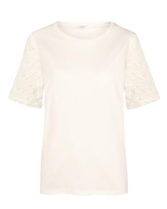 Applique Short Sleeve Top