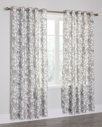 Taylor Eyelet Curtains 66X72""