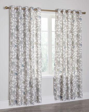"Taylor Eyelet Curtains 66X72"""