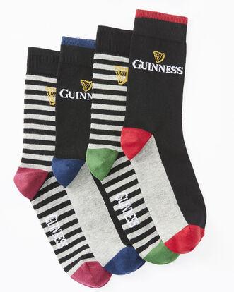 4pk Guinness Stripe Socks