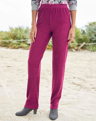 Supersoft Pull-on Cord Trousers