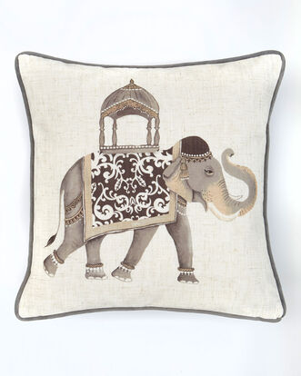 Ornate Elephant Cushion