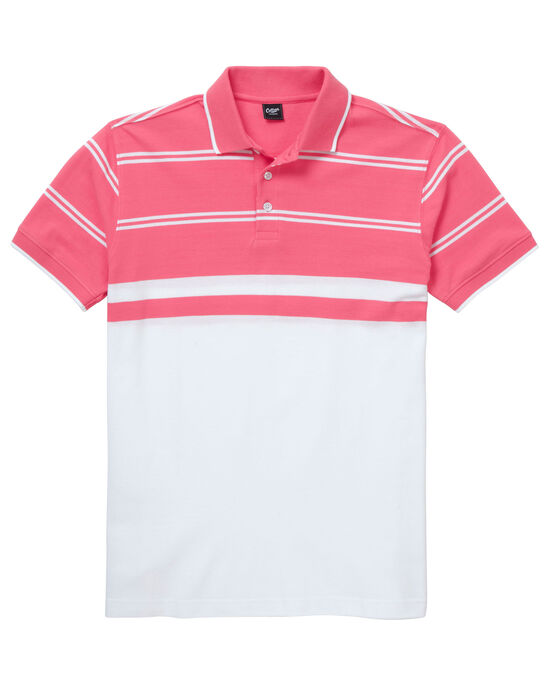Luxury Stripe Polo Shirt