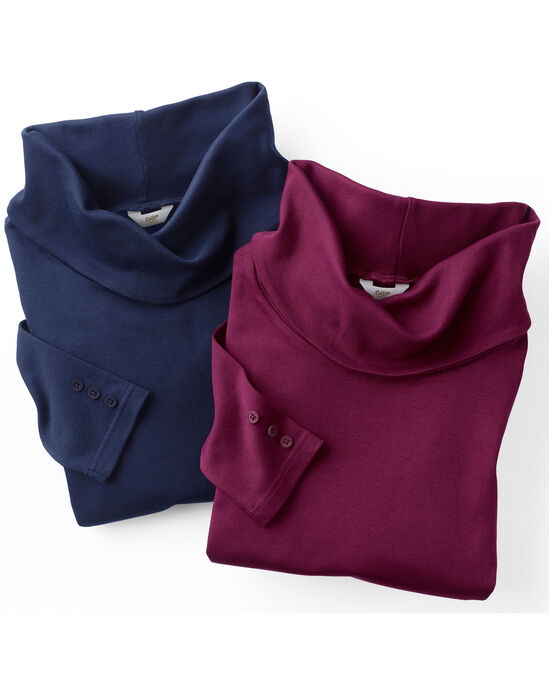 Supersoft Cowl Neck Top