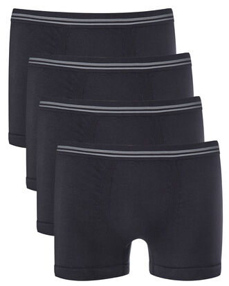 Pack of 4 Anti-bacterial Seamless Boxers
