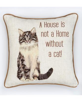 Home Cat Cushion