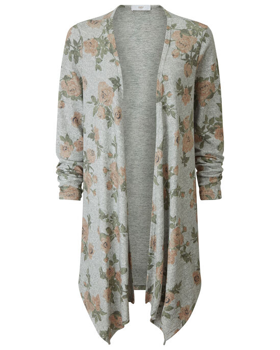 Soft Touch Printed Cardigan