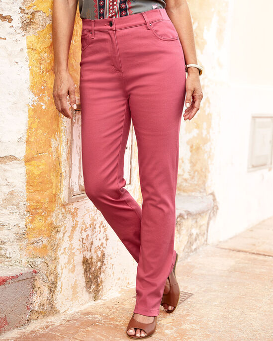 Magic Comfort Straight Leg Jeans (Twill)