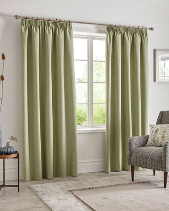 Harlow Blackout Pencil Pleat Curtains