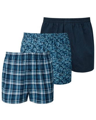 Pack of 3 Woven Boxers