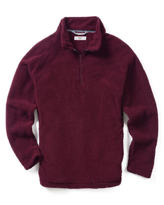Soft Fleece Half Zip Top
