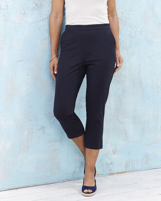 Stretch Crop Trousers