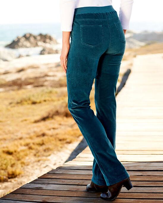 Tummy Control Cord Trousers