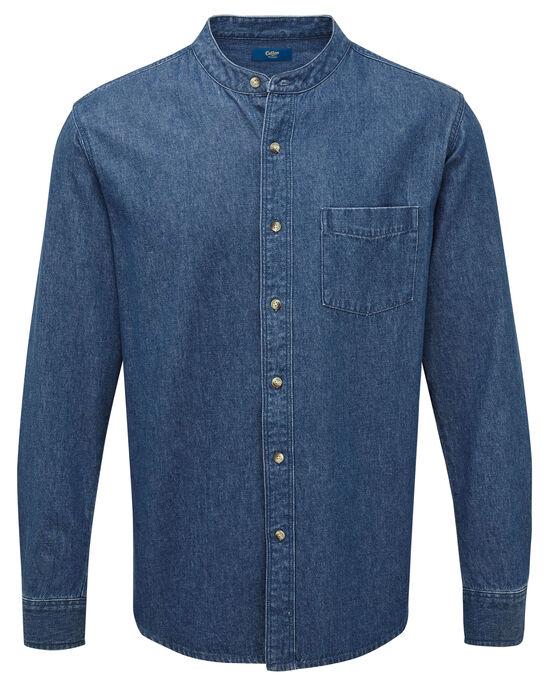 Grandad Denim Shirt