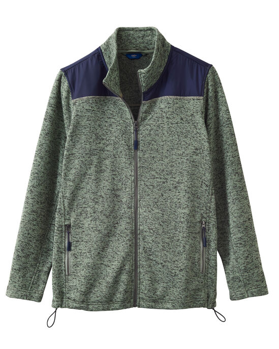 Farndale Knitted Fleece Jacket