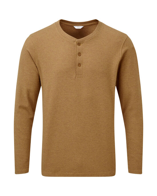 Long Sleeve Organic Grandad T-shirt