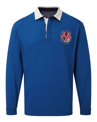 Help For Heroes Long Sleeve Embroidered Rugby
